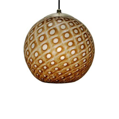 Pacific Orb Mocha Mini Pendant Lamp