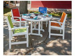 Outdoor Dining Set with Four Chair Colors
