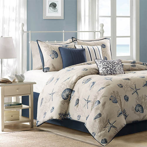 Bayside King Size Seven Piece Quilt Set
