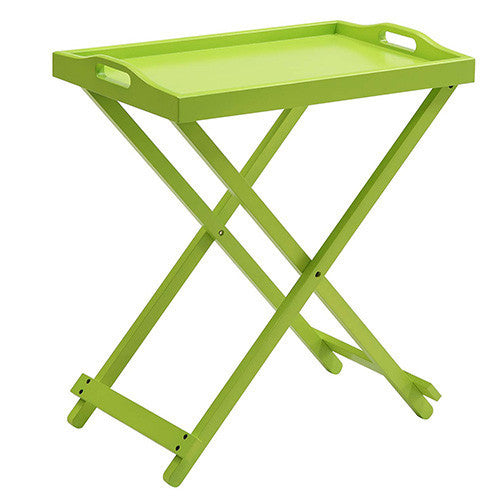 Apple Green Tray Table