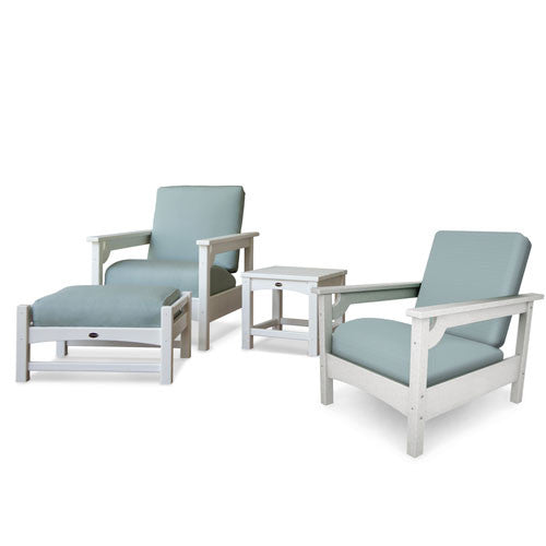 Polywood Four Piece Deep Seating Set