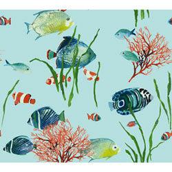Saltwater Fish Wallpaper - Double Roll