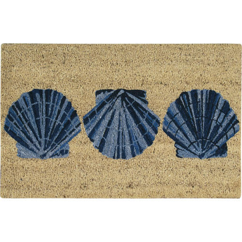 Scallop Shell Entryway Rug