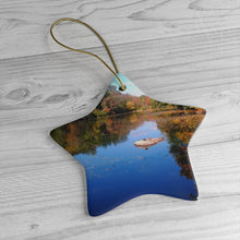 Young's Pond Ceramic Ornament
