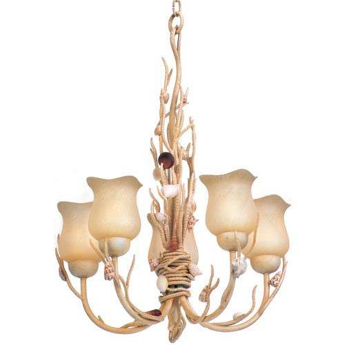 Atlantis Five Light Chandelier