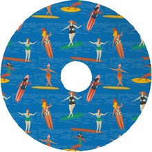 Bathing Beauties Christmas Tree Skirt