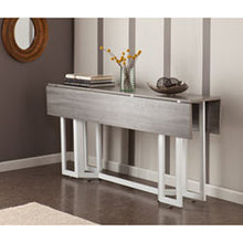 Weathered Gray Convertible Table - Two Finishes