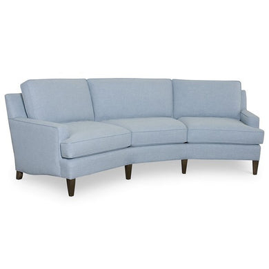 Sea Blue Wedge Sofa