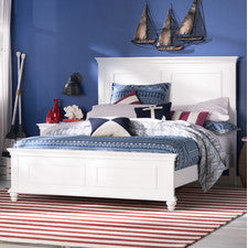 Cape Cod Panel Bed - Queen