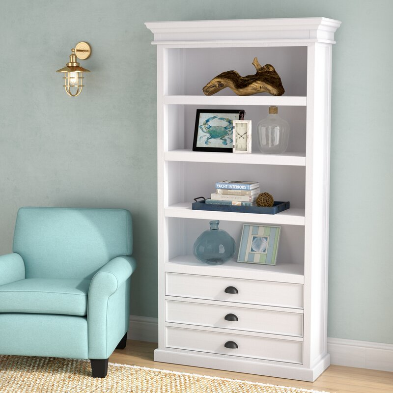 Becky Bookcase with Three Drawers