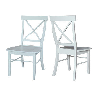 Crossback Dining Chair Set of Two