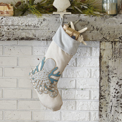 Octopus Christmas Stocking