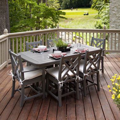 Polywood Outdoor Dining Set - Three Finishes