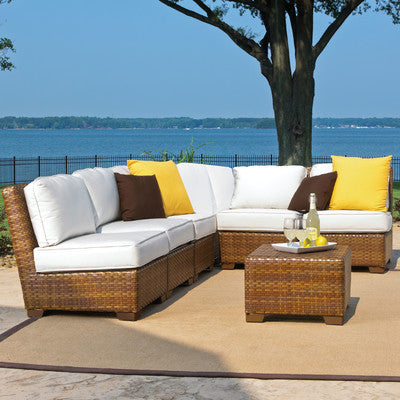 Panama Jack Six Piece Outdoor Seating Set