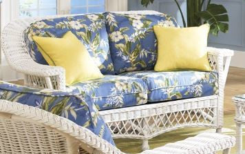 Bar Harbor Loveseat - Three fabrics