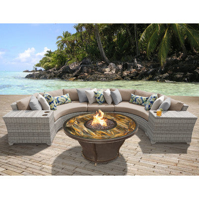 Fairfield Outdoor Furniture Group with Firepit - Ten colors