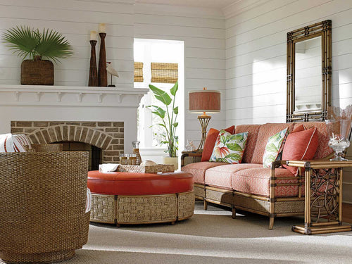 Tommy Bahama Configureable Living Room Orange