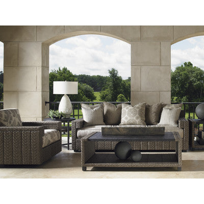Tommy Bahama Blue Olive Four Piece Deep Seating Group