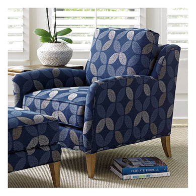 Tommy Bahama Twin Palms Arm Chair and Ottoman