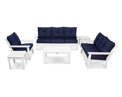 Six Piece Vineyard Outdoor Seating Set