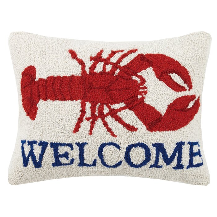 Lobster Welcome Pillow