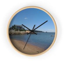 Short Beach Wall clock
