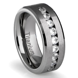 mens-wedding-band-in-titanium-8mm-ring-with-flat-brushed-top-and-channel-set-cz-AA4612500-1