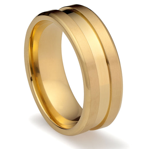 mens-wedding-band-in-titanium-8mm-ring-14k-gold-plated-with-center-groove-AA4612505-1