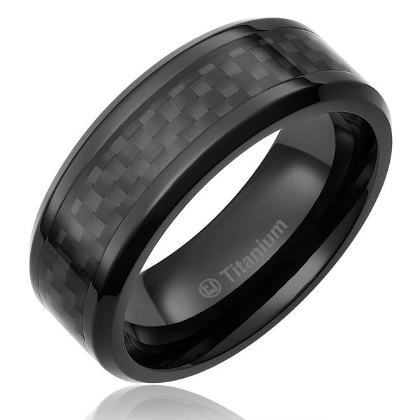 mens-wedding-band-in-titanium-8mm-ring-black-plated-with-black-carbon-fiber-inlay-AA4612527-1