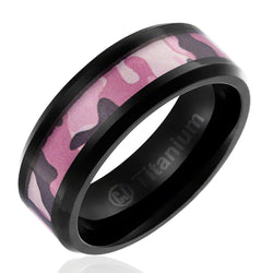 womens-camo-wedding-band-in-titanium-8mm-ring-black-plated-with-pink-camouflage-inlay-beveled-edges-AA4612574-1