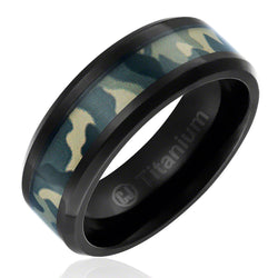 mens-camo-wedding-band-in-titanium-8mm-ring-black-plated-with-green-military-camouflage-inlay-beveled-edges-AA4612575-1