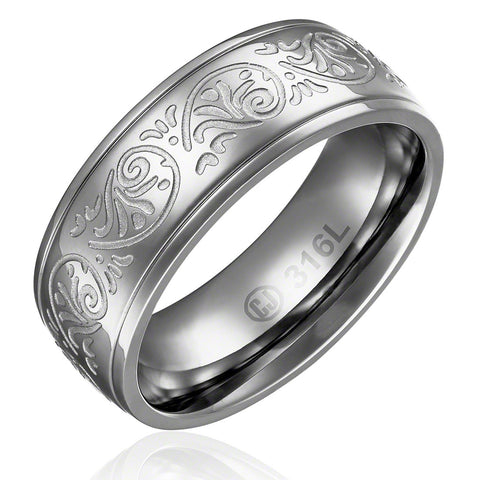 mens-wedding-band-in-stainless-steel-8mm-classic-domed-ring-with-carved-florentine-design-AA4612807-1