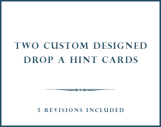 GRAPHGIC DESIGN | TWO CUSTOM CARD