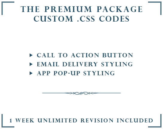 DROP A HINT CUSTOM .CSS  | THE PREMIUM PACKAGE