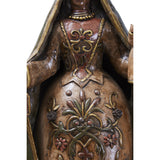La Virgen del Carmen - Pottery & Ceramics - Mexican Folk Art Clay - Cactus Fine Art