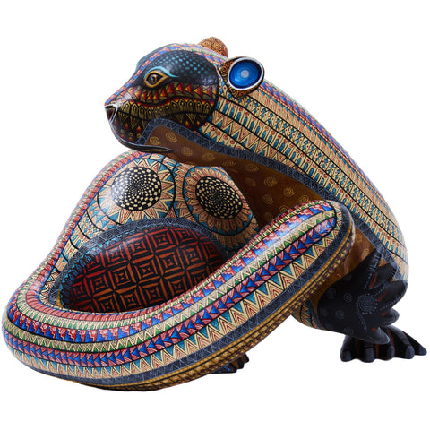 Nutria - Wood Otter - Mexican Folk Art | Cactus Fine Art