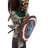 Emperador Ahuizotl - Mexican Folk Art  Featherwork and Ceramics - Cactus Fine Art