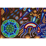 Maimi -  Yarn Painting - Mexican Huichol Art - Mexican Folk Art | Cactus Fine Art