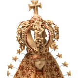 Virgen de la Soledad / Ceramics Mexican Folk Art Clay