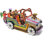 Nacimiento Jeep / Woodcarving Mexican Folk Art Sculpture Nativity