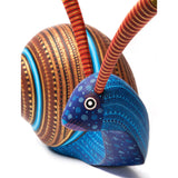 Caracol / Woodcarving Alebrije Mexican Folk Art Sculpture