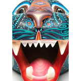 Mascara Jaguar / Woodcarving Alebrije Mexican Folk Art Sculpture