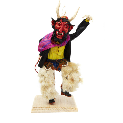 Diablo - Devil - Corn Husk Doll - Mexican Folk Art | Cactus Fine Art