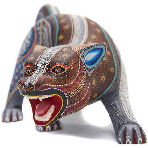 Jaguar Zapoteco - Zapotec Jaguar - Mexican Folk Art | Cactus Fine Art