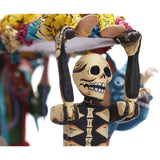 Sepelio Feliz - Happy Burial / Mexican Mechanical Folk Art Carton Sculpture