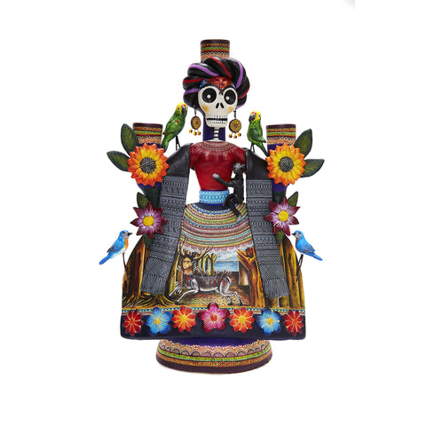 Frida Espectacular - Amazing Frida - Mexican Folk Art | Cactus Fine Art