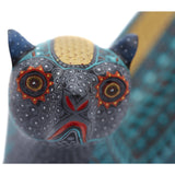 Nutria Azul - Blue Wood Otter - Mexican Folk Art | Cactus Fine Art