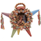 Piñata Natividad Grande - Big Nativity Piñata  / Ceramics Mexican Folk Art Clay