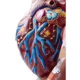 Corazon de mi Pueblo / Woodcarving Mexican Folk Art Sculpture