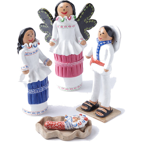 Nacimiento Otomi / Ceramics Mexican Folk Art Clay Nativity